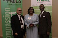 Winner of the Alice Dickerson Faith Based Award: Walk the Word Church – Accepting the award Chantea Layson and Pastor Pettaway
